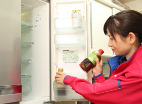 冷蔵庫内の設置場所を記録